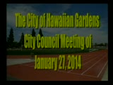 City Council Special Meeting of January 27, 2014