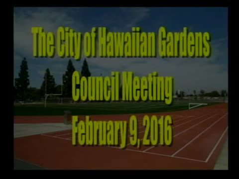 City Council Meeting of February 9, 2016 PART 1 of 2
