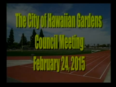 City Council Meeting of February 24, 2015 PART 1 of 2