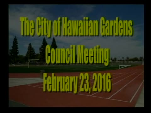 City Council Meeting of February 23, 2016 PART 1 of 2