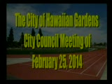 City Council Meeting of February 25, 2014 PART 2 of 3