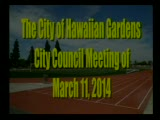 City Council Meeting of March 11, 2014 PART 1 of 2