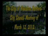 City Council Special Meeting on Graffiti