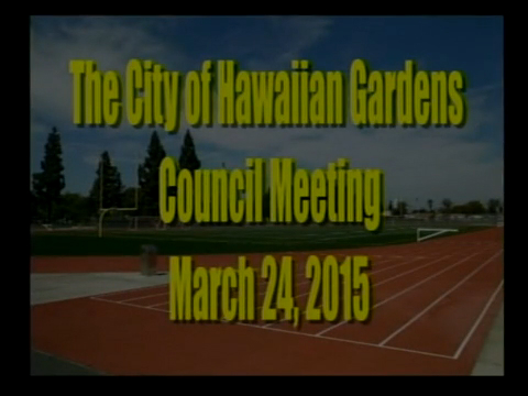 City Council Meeting of March 24, 2015 PART 1 of 3
