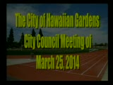 City Council Meeting of March 25, 2014 Part 1 of 2