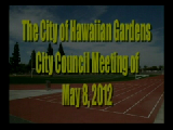 City Counicl Meeting of May 8, 2012