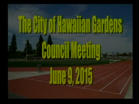 City Council Meeting of June 9, 2015