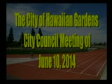 City Council Meeting of June 10, 2014