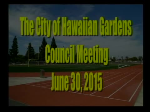 City Council Meeting of June 30, 2015 Part 1 of 2