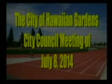 City Council Meeting of July 8, 2014