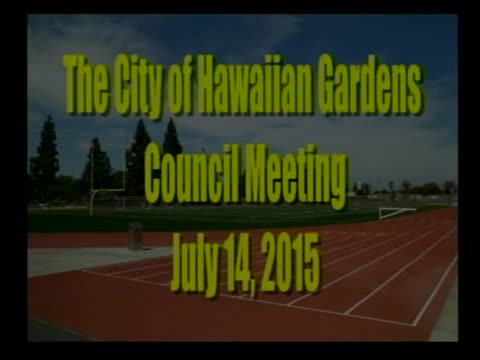City Council Meeting of July 14, 2015 Part 1 of 3
