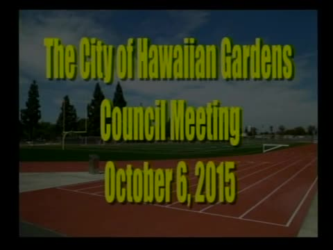 City Council Meeting of October 6, 2015 PART 1 of 3
