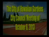 City Council Meeting of October 8, 2013 Part 1 of 2