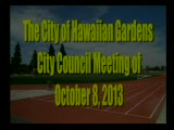 City Council Meeting of October 8, 2013 Part 2 of 2