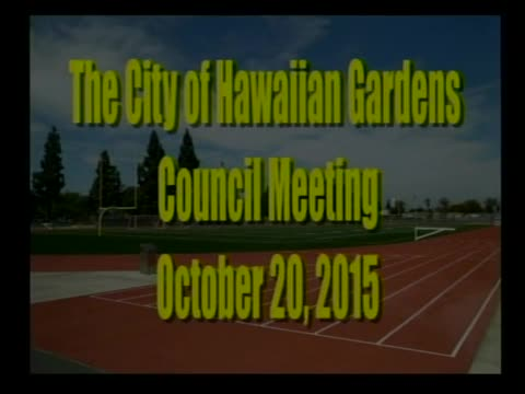 City Council Meeting of October 20, 2015 PART 2 of 3