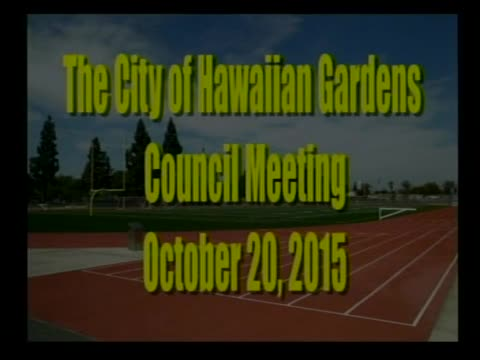 City Council Meeting of October 20, 2015 PART 3 of 3