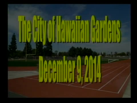 City Council Meeting of December 9, 2014 PART 1 of 2