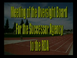 Oversight Board of the Successor Agency to RDA